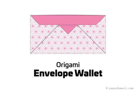How To Make A Paper Wallet Step By Step - make an easy origami envelope wallet