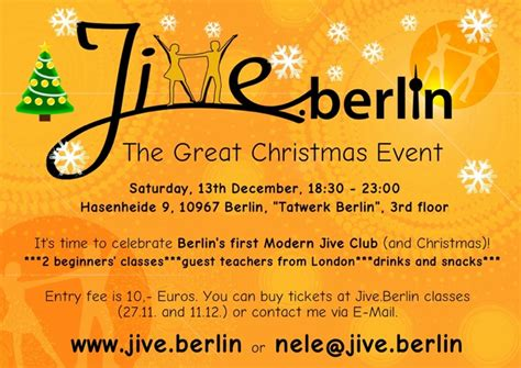 the great christmas event 2014 jive berlin