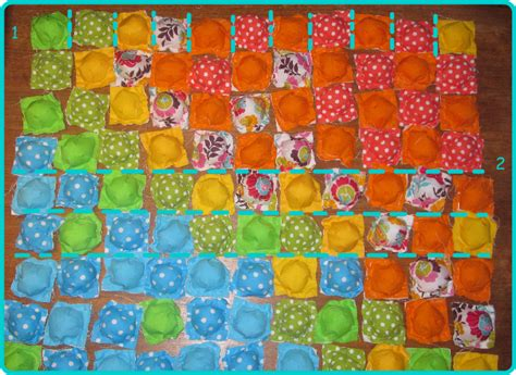 Puff Quilt Tutorial by Nkitkat Puff Biscuit Quilt Tutorial