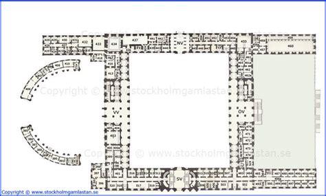 royal palace floor plans ground floor plan kungliga slottet royal palace