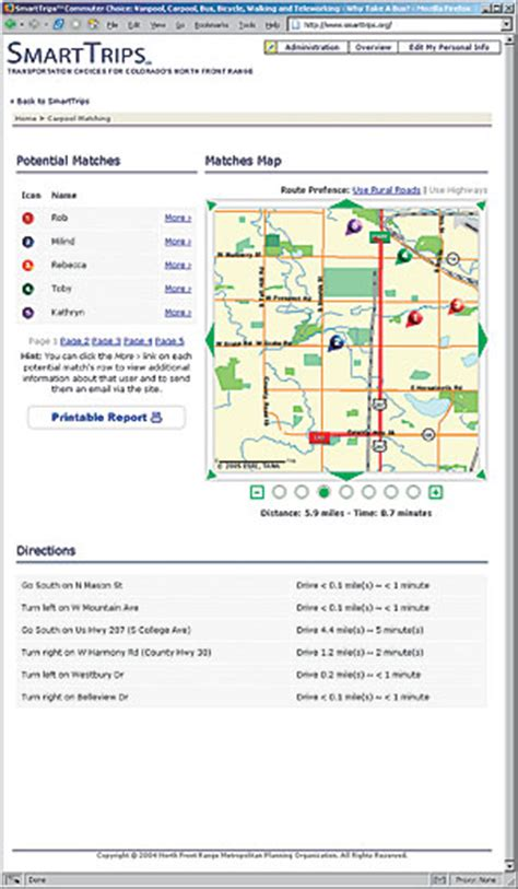 maps gis nfrmpo arcnews winter 2005 2006 issue colorado s front range metropolitan planning