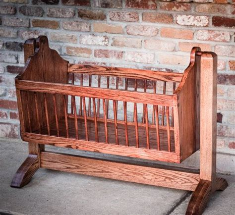 wooden swinging crib 25 best ideas about baby cradles on pinterest moon