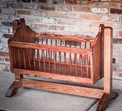 Handmade Wooden Crib - best 25 baby cradles ideas on wooden baby