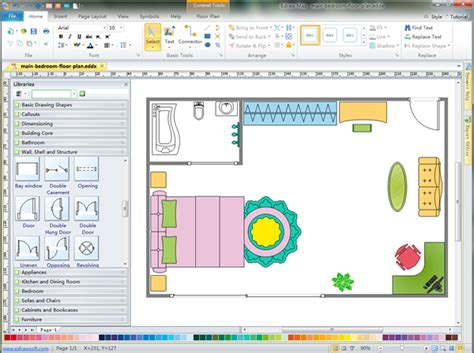 free architectural drawing program easy 2d architectural design software