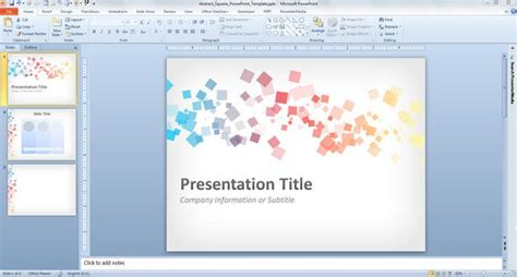 Ppt Slide Layout Free Download | free abstract squares powerpoint template