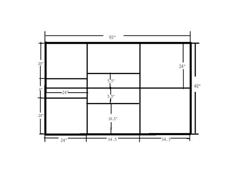plyo box template one sheet wood plans house design and decorating ideas
