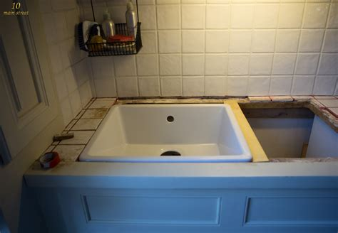 how to install undermount kitchen sink undermount single bowl ikea domsj 246 sink for a vintage