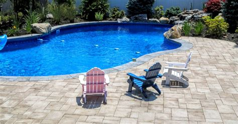 pool patio pavers island patios contractors masonry designs driveways
