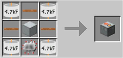 how to make a redstone capacitor recipes sg craft