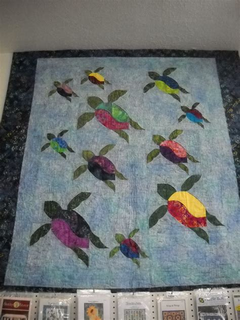 Turtle Quilt Pattern Free by Turtle Trails Nana S Quilt Shop