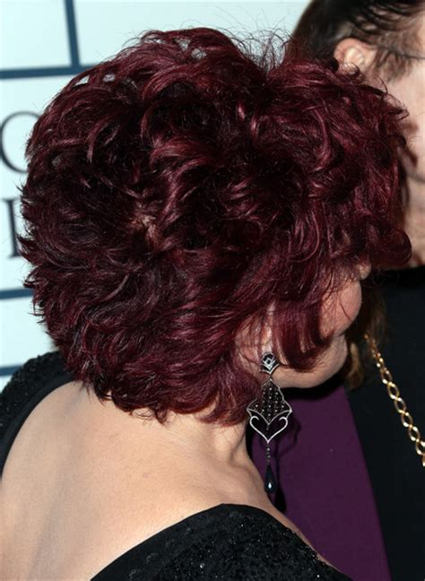back view of sharob osbournes hair the 56th annual grammy awards pre grammy gala and salute