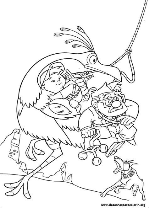 up movie coloring page up altas aventuras para colorir