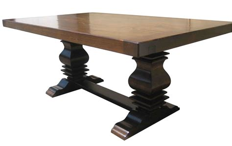 anaheim reclaimed wood extension dining custom reclaimed wood trestle dining room tables handmade from salvaged wood recycled from