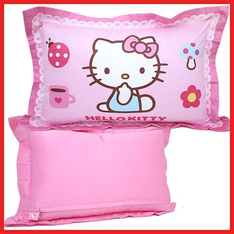 Pillow Bed Hello Sanrio Hello Pillow Pink Bedding 100 Cotton 24 Quot Ebay
