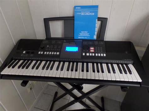 Keyboard Yamaha Psr E423 Bekas yamaha psr e423 keyboard in k 246 ln keyboards kaufen und