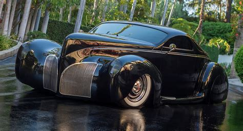 Home Interior Doors by Highly Modified Lincoln Zephyr Belongs To Gotham City