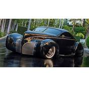Highly Modified Lincoln Zephyr Belongs To Gotham City