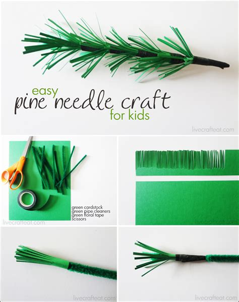 pine needle crafts for fall leaf crafts activities for live craft eat