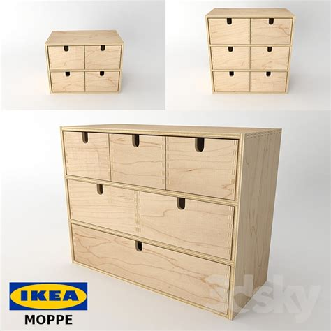 3d models office furniture ikea moppe