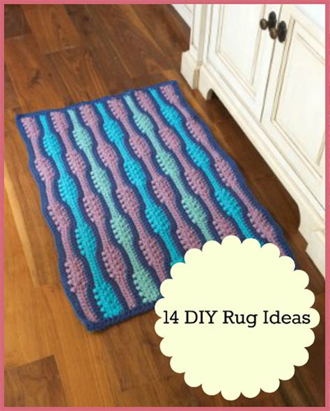 Diy Area Rug Ideas by 14 Diy Rug Ideas For Barefoot Living Favecrafts