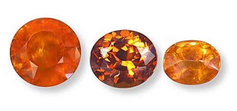 Spessartine Orange Namibia january birthstone garnet gemme couture gemme couture