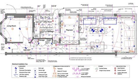 electrical  lighting plans kent griffiths design