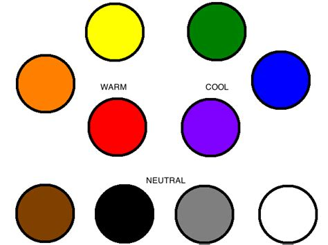 neutral colors the color wheel