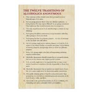Aa twelve traditions printable format prints
