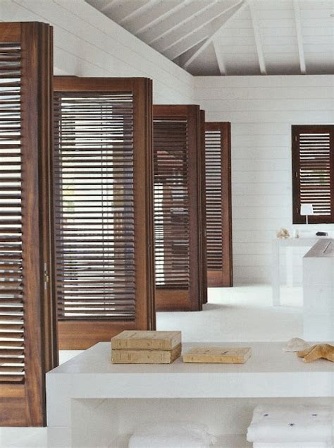 The Chameleons Of Interior Design Louvered Doors Designed Slatted Interior Doors