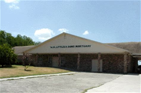 w h littles sons mortuaries temple tx legacy