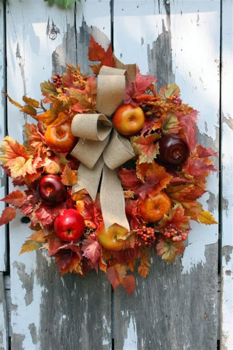 cute diy apple decorations  autumn home design
