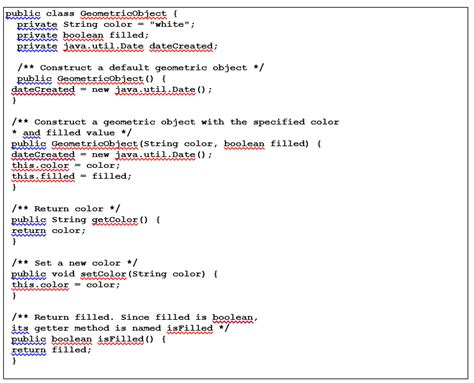 java color class solved java program practice the triangle class design