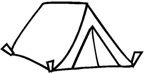 tent coloring page tent colouring pages