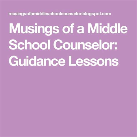 middle school counselor resources 17 best ideas about middle school counseling on