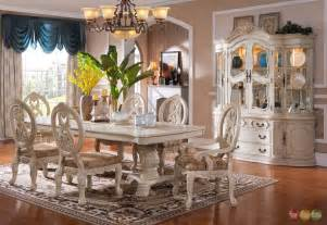 White Formal Dining Room Sets piece traditional white formal dining room furniture set new ebay