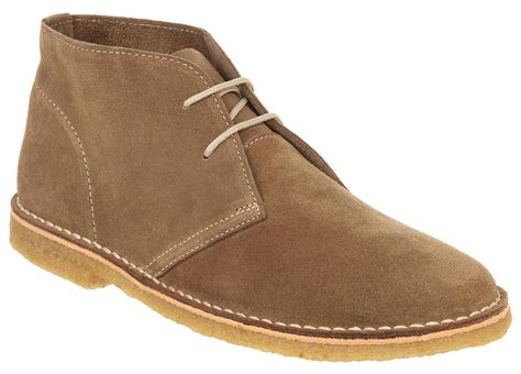 mens desert boot mens ask the missus cookie desert boot beige suede boots