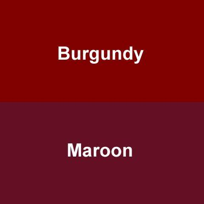 maroon the color what colors coordinate with burgundy the color maroon