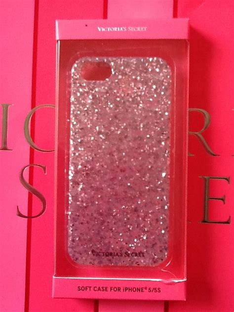 Softcase Mirror For Iphone X victorias secret pink glitter iphone 5 5s soft