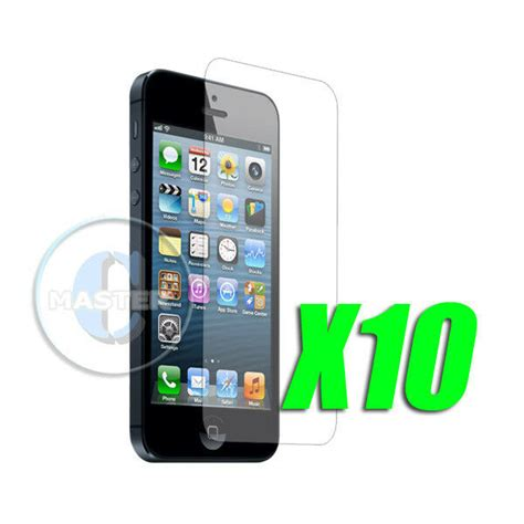 10x protective anti glare matt clear screen protector for apple iphone 5 5s 5c ebay