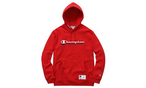 supreme hoodie supreme x chion scripted hoodie highsnobiety
