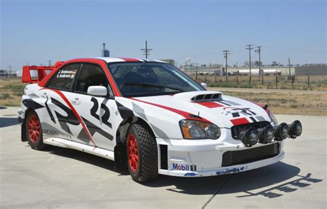 subaru sti rally car 2004 subaru impreza wrx sti rally car for sale on bat