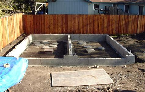 How To Construct A Garage by How To Build A Garage Foundation