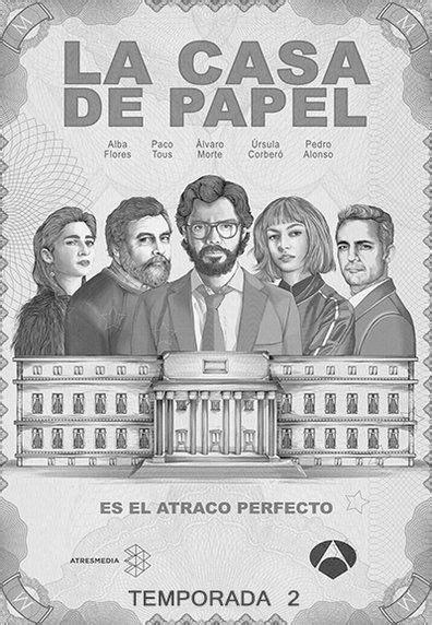 Assistir Serie La casa de papel Online Grátis - Temporadas