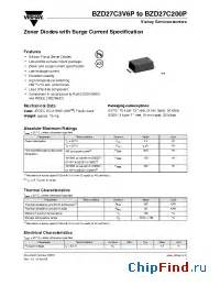 zener diodes with surge current specification bzd27c15p vishay zener diodes with surge current specification