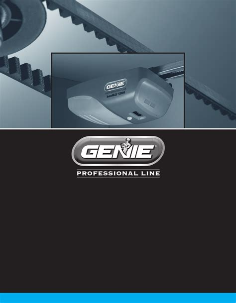 Genie Garage Door Opener 4024 User Guide Manualsonline Com Overhead Door Manual