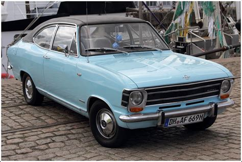Opel Olympia A 1967 1970 Oldtimer Treffen Bremerhaven