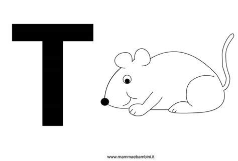 lettere alfabeto con disegni per bambini lettere alfabeto con disegni la t mamma e bambini