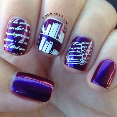 easy nail art book 109 best images about literary nail body art on