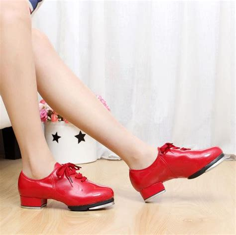 s shiny patent leather tap shoes tap