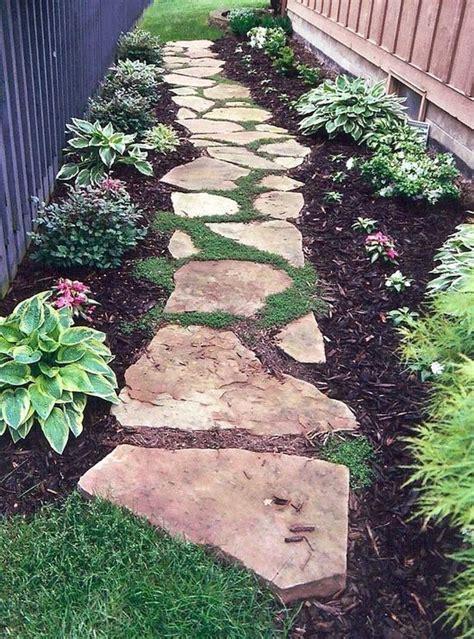 walkway stones ideas best 25 stone walkways ideas on